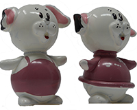 Dog Couple Marble (Set of 2) MUST ORDER 2 SETS MARBLE0417