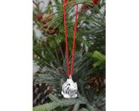 Zebra Marble Ornament-MARBLEOR0236