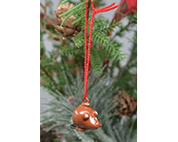 Beaver Marble Ornament-MARBLEOR0244