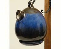 Egg Bird House Cobalt Blue-BYERSH41220