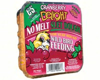 Cranberry Delight No Melt Suet Dough +Freight-CS566
