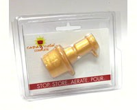 CapaBunga Complete Gold Aerator and Reusable Silicone Wine Bottle Cap-CAPACC03
