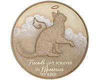 Cat Live Forever Garden Stone-CHA10033