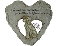 Dog Devoted Angel Stepping Stone-CHA10039
