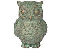 Owl Garden Figurine-CHA10486