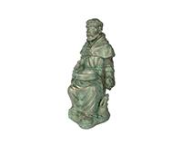 St. Francis Garden Figure-CHA10491