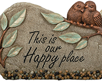 Happy Place Garden Marker-CHA10764
