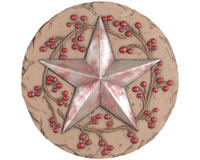 Decor Stepping Stone Star-CHA11112