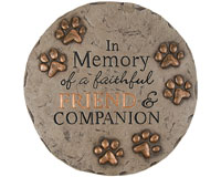 Decor Stepping Stone Friend and Companion-CHA11134
