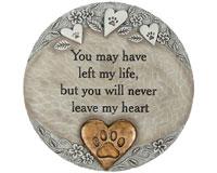 Serene Garden Stone Pet Heart-CHA12354