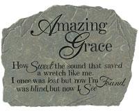Garden Stone Amazing Grace-CHA12991