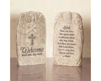 Welcome Angel Prayer Stone-CHA13722