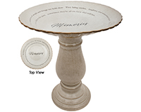 Memories Memorial Bird Bath-CHA15204