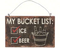 My Bucket List Sign-CHA17731
