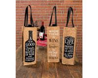 Cork Wine Bags-CHA17767