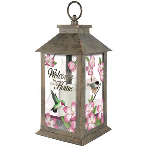Floral Songbird Lantern