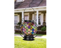 Solar Mosaic Lantern Bronze-CHA65829