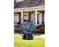 Solar Mosaic Lantern Jewel Tones-CHA65830