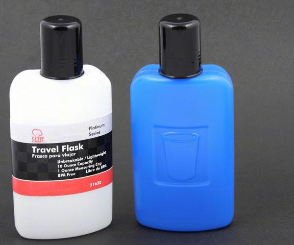 Travel Flask 10 oz- Plastic