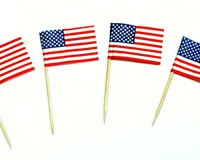 Toothpicks with USA Flags-CHEF21829