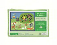 Forest Friends Pouch Puzzle 12-CB9780735335097
