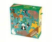 Animals of the World Jumbo Puzzle 25 pcs-CB9780735335103
