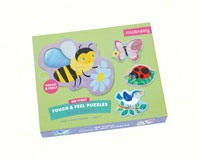 In the Garden Touch & Feel Puzzle-CB9780735346352