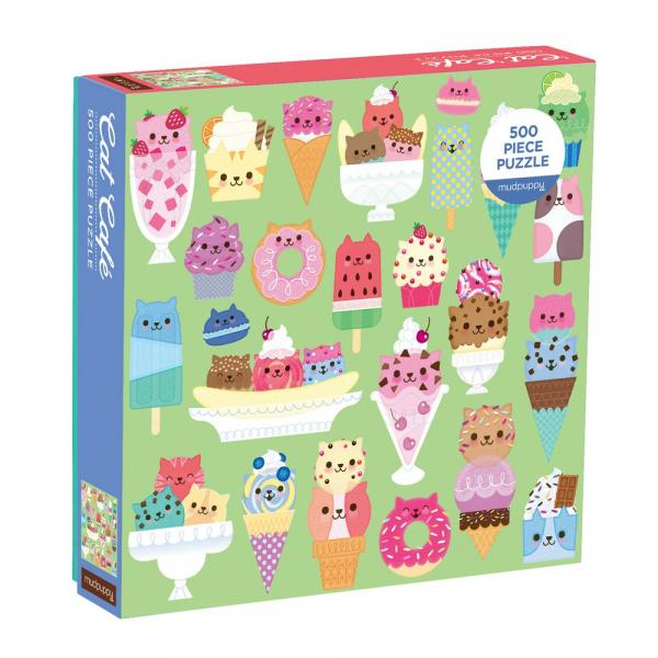 Cat Cafe Puzzle 500 pcs
