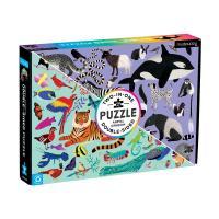 Animal Kingdom Double Sided Puzzle-CB9780735360464