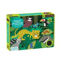 Rainforest Fuzzy Puzzle 42 pcs-CB9780735360709