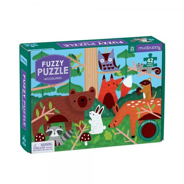 Woodland Fuzzy Puzzle 42 pcs