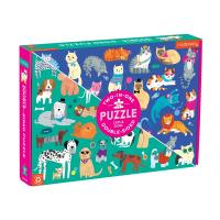 Cats & Dogs Double Sided Puzzle-CB9780735360730