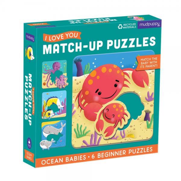 Ocean Babies Puzzle 6 pcs