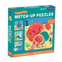 Ocean Babies Puzzle 6 pcs-CB9780735363601