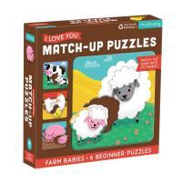 Farm Babies Puzzle 6 pcs-CB9780735363625