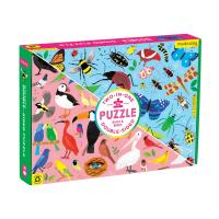 Bugs & Birds Double Sided Puzzle-CB9780735363748