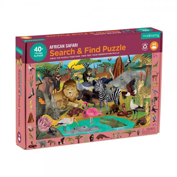 African Safari 42 piece Puzzle