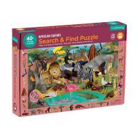 African Safari 42 piece Puzzle-CB9780735365704