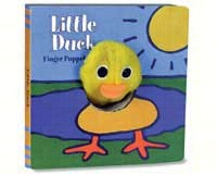 Little Duck Finger Puppet Book by Klaartje Van Der Put-CB9780811848473
