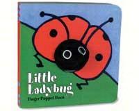 Little Ladybug Finger Puppet Book-CB9780811848480