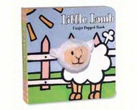 Little Lamb Finger Puppet Book-CB9780811852357