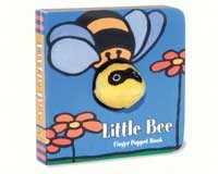 Little Bee Finger Puppet Book-CB9780811852364