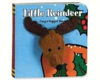 Little Reindeer Fingers Puppet-CB9780811854573