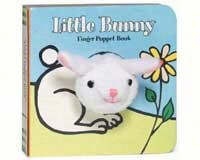 Little Bunny Finger Puppet Book-CB9780811856447