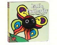Little Butterfly Finger Puppet Book-CB9780811856454