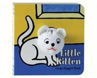 Little Kitten Finger Puppet Book-CB9780811857703
