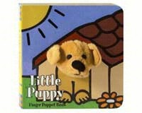 Little Puppy Finger Puppet Book-CB9780811857710