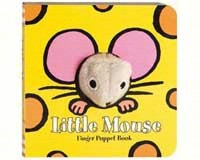 Little Mouse Finger Puppet Book-CB9780811861106