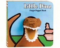 Little Dinosaur Finger Puppet Book-CB9780811863537