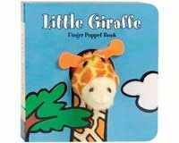 Little Giraffe Finger Puppet Book-CB9780811867870